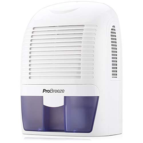 Pro Breeze PB-03-EU, Mini Deumidificatore per ambienti, contro umidità e muffa in casa, bagno, camera da letto o roulotte, 1500 ml - 1