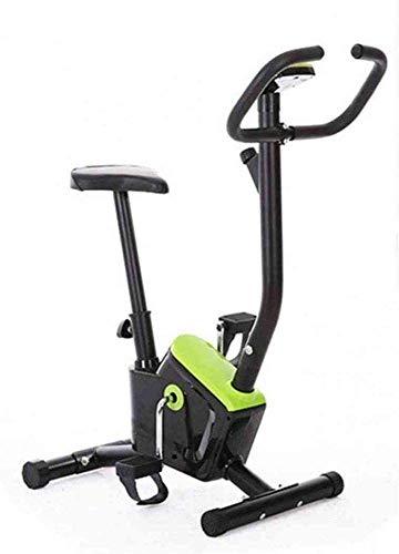 QTJ Pieghevole Elettromagnetico Cyclette, Attrezzature Fitness al Coperto, Formatore Verticale Fissa E Formatore Pieghevole per Casa Esercizio E L'esercizio Aerobico,Green - 1