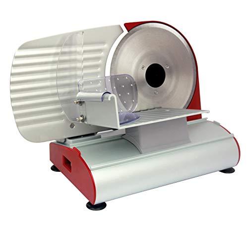 Rgv 110901 Mary 220 - Affettatrice, Struttura in alluminio, Potenza Motore 200 Watt, Lama 220 mm, Spessore di taglio fino a 14 mm - 1
