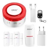 Sistema di Allarme Intelligente con Integrazione Alexa/Google, ERAY T1 Controllo App del Sistema di Allarme WiFi (iOS/Android) / Espandibile/Attivazione Temporizzata, Sistemi di Allarme Domestico - 1