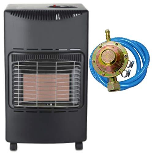Stufa a gas infrarossi Tectro TGH242R 4200 W ODS sistema anti-ribaltamento ed assenza fiamma O2 REGOLATORE TUBO FASCETTE OMAGGIO - 1