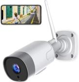Supereye FHD 1080P Telecamera IP esterna, Telecamera di Sicurezza con Rilevazione Movimento Telecamera WiFi con IP66 Visione Notturna Impermeabile, Compatibile con IOS/Android - 1
