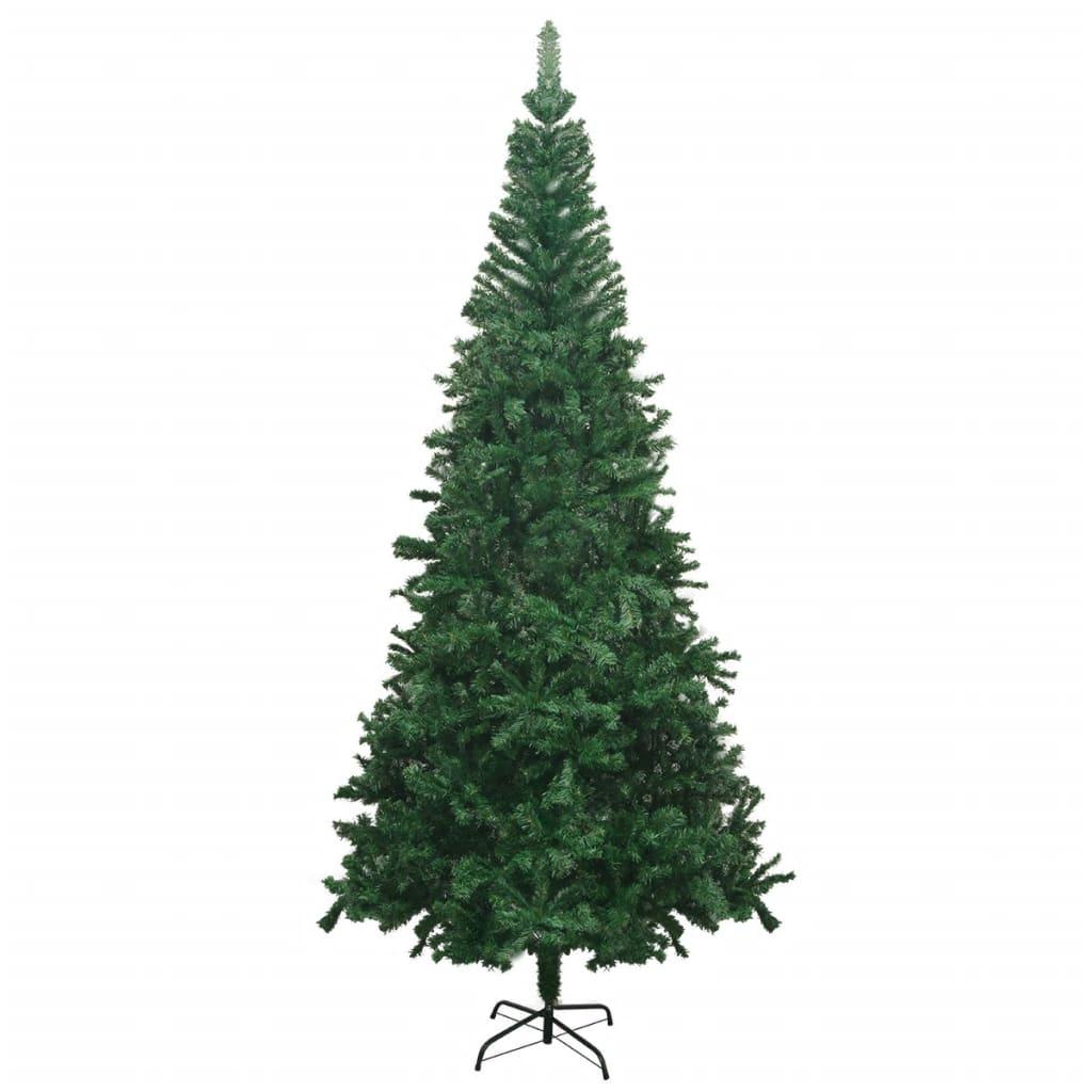 vidaXL Albero di Natale Artificiale L 240 cm Verde