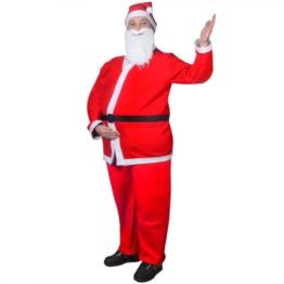 vidaXL Set Costume di Natale Babbo Natale