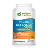VISION DEFENDER OMEGA: Integratore per occhi secchi/macula/cura dell'occhio - 1000mg di Olio di pesce puro omega-3 ad alta intensità (400mg EPA, 200mg DHA per capsula) + Vitamina E (60 Softgels) - 1