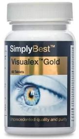 Visualex Gold - Con Luteina e Zeaxantina - 60 compresse - 2 mesi di trattamento - Adatto ai vegani - SimplySupplements - 1