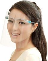 VVM TECH LTD - Mascherina protettiva con visiera, trasparente, montata su occhiali - 1