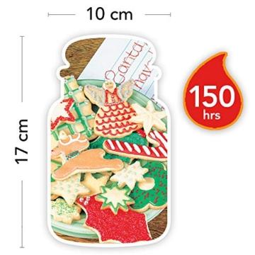 Yankee Candle Candela profumata in giara grande   Biscotto di Natale   Durata Fino a 150 Ore - 2