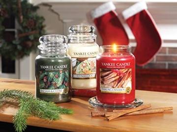Yankee Candle Candela profumata in giara grande   Biscotto di Natale   Durata Fino a 150 Ore - 4