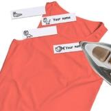 400 Pezzi Etichette di Abbigliamento da Stirare Scrivibili, Etichette in Tessuto Etichette Nome con Animali Simpatiche per Contrassegnare i Tuoi Vestiti per Uniforme Scola, Università, Asilo - 1