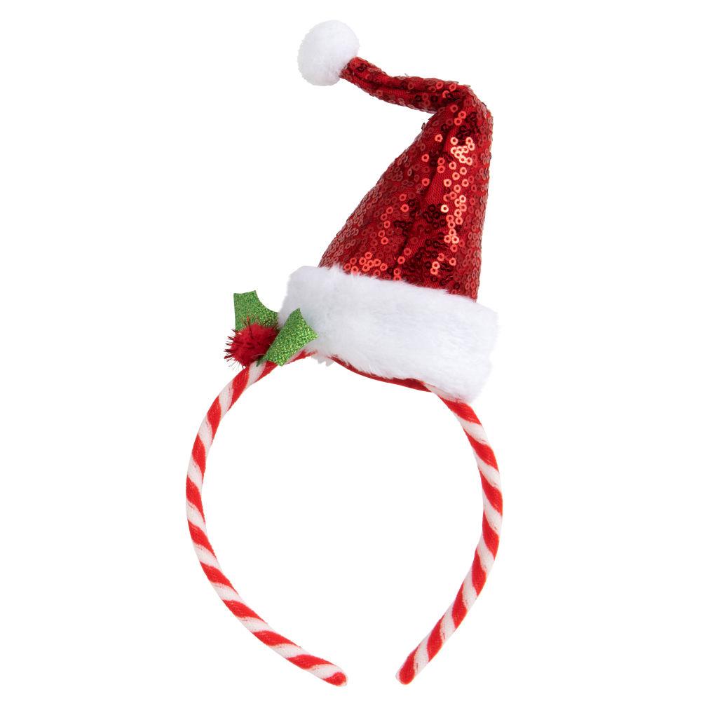 Cerchietto berretto di Natale multicolore