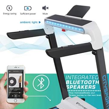 CITYSPORTS Tapis roulant Pieghevole CS-WP5, Tapis roulant Elettrico 2HP 15 km/h, Display a LED controllabile con Luce Ambientale, Facile da spostare e riporre, Silenzioso Ufficio/Home Fitness - 5