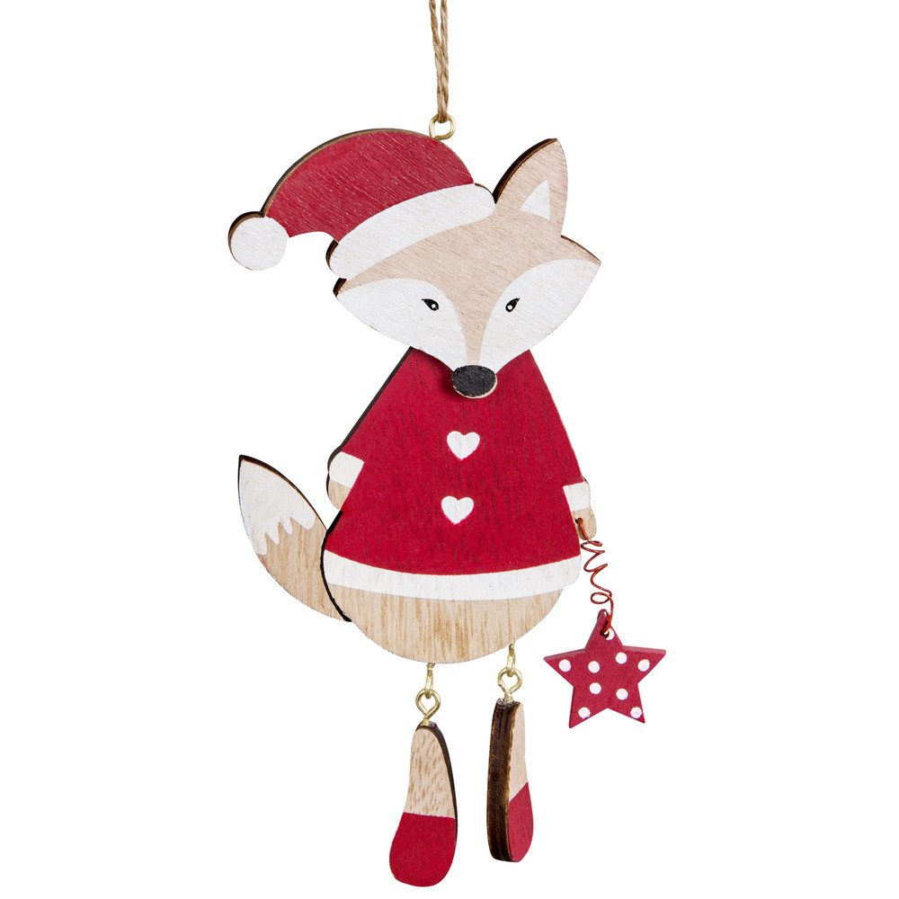 Decorazione di Natale volpe rossa