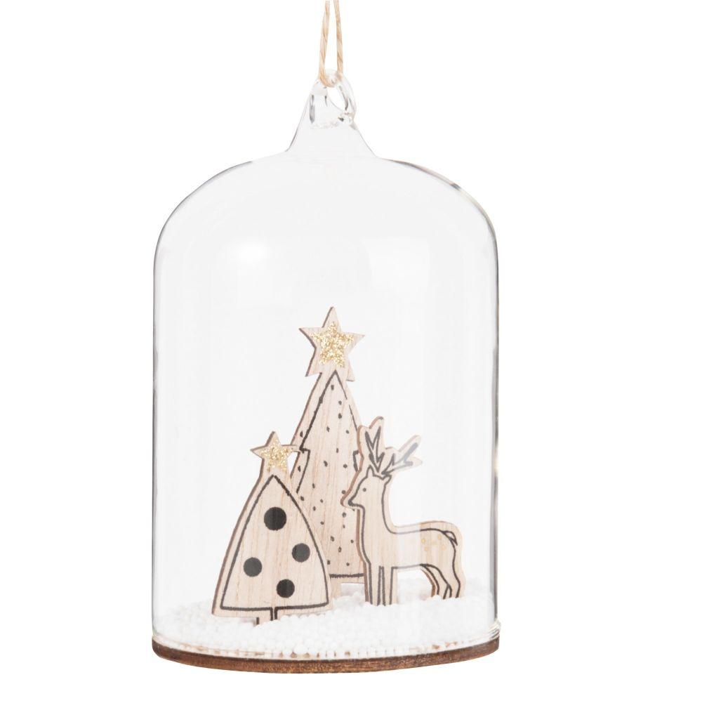 Dove acquistare Decorazione natalizia da appendere con soggetti e campana in vetro