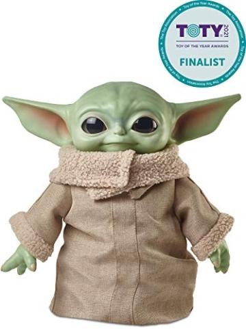 Disney-Star Wars Child The Mandalorian Peluche Giocattolo per Bambini 3+ Anni, da 28 cm, GWD85 - 2