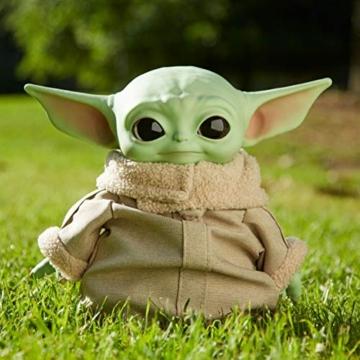 Disney-Star Wars Child The Mandalorian Peluche Giocattolo per Bambini 3+ Anni, da 28 cm, GWD85 - 3