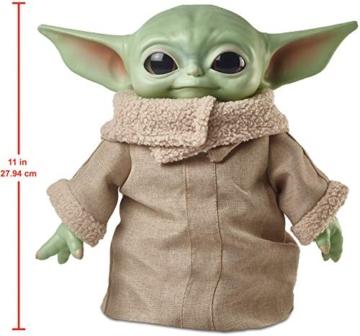 Disney-Star Wars Child The Mandalorian Peluche Giocattolo per Bambini 3+ Anni, da 28 cm, GWD85 - 5