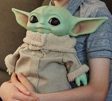 Disney-Star Wars Child The Mandalorian Peluche Giocattolo per Bambini 3+ Anni, da 28 cm, GWD85 - 6