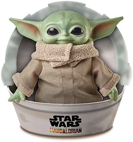 Disney-Star Wars Child The Mandalorian Peluche Giocattolo per Bambini 3+ Anni, da 28 cm, GWD85 - 1