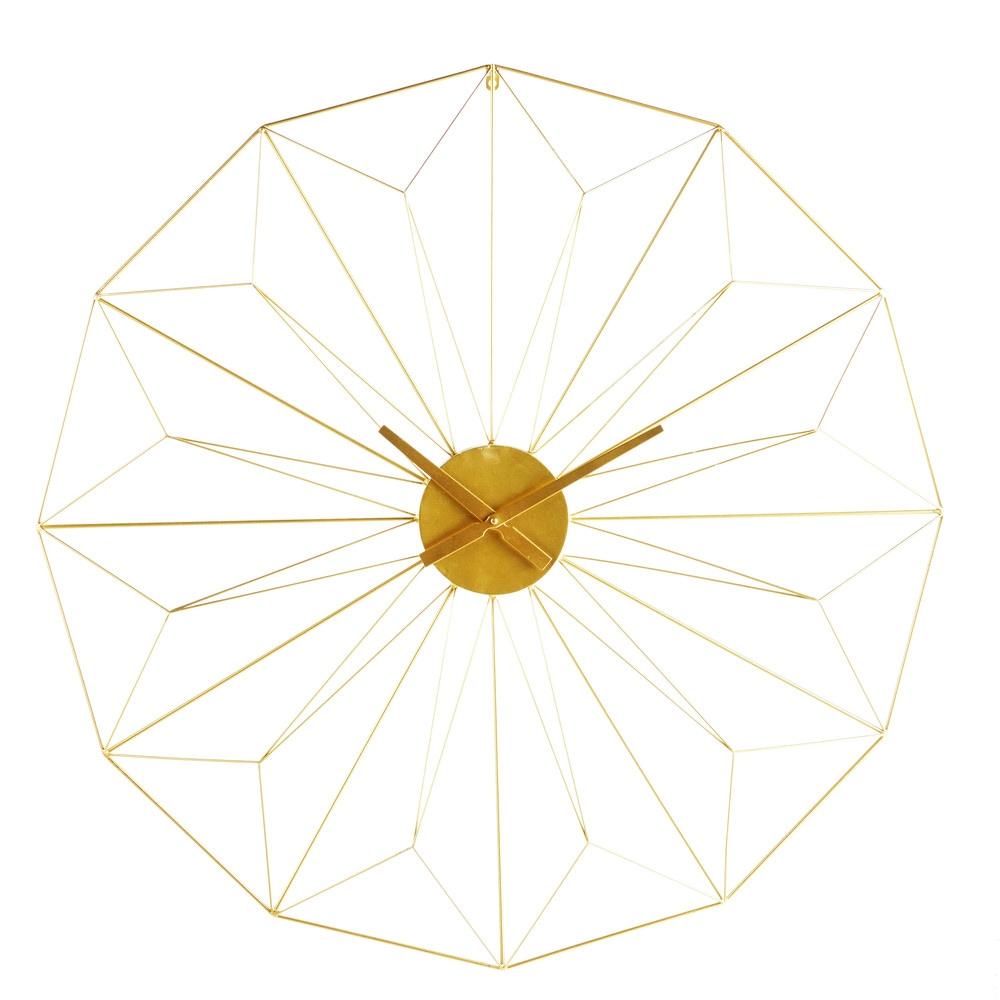 Orologio in metallo dorato 100 cm