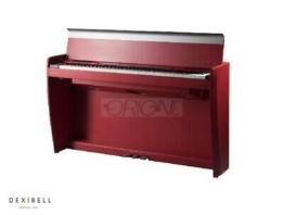pianoforte digitale Dexibell VIVO Home H7 88 tasti pesati Matte RED
