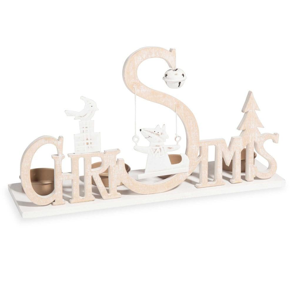 Portalumino di Natale 4 candele