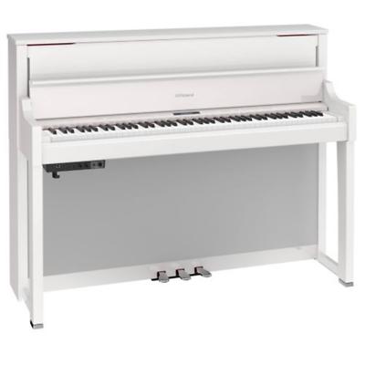 Roland LX17PW Pianoforte digitale bianco lucido completo di stand KSC82PW