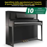 Roland LX706 CH Charcoal Black Pianoforte digitale Nero