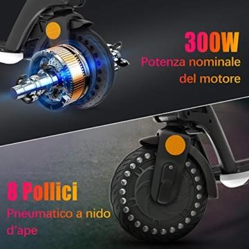 urbetter Monopattino Elettrico, 30 Km di Autonomia, 7.5Ah Batteria Rimovibile, Electric Scooter Pieghevole con Interfaccia USB, Unisex Adulto e Adolescenti - U1 - 3
