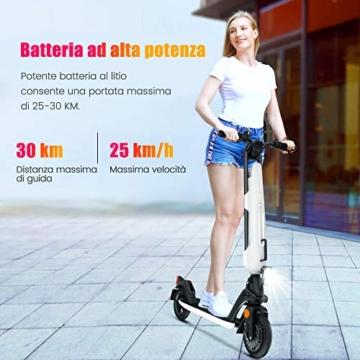 urbetter Monopattino Elettrico, 30 Km di Autonomia, 7.5Ah Batteria Rimovibile, Electric Scooter Pieghevole con Interfaccia USB, Unisex Adulto e Adolescenti - U1 - 4