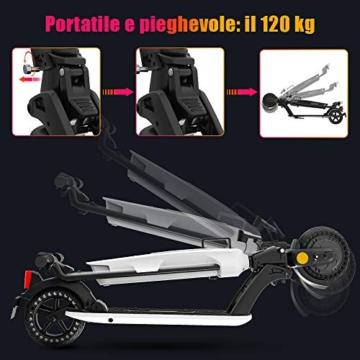 urbetter Monopattino Elettrico, 30 Km di Autonomia, 7.5Ah Batteria Rimovibile, Electric Scooter Pieghevole con Interfaccia USB, Unisex Adulto e Adolescenti - U1 - 5