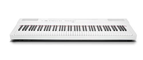 Yamaha Digital Piano P-125WH, Pianoforte Digitale Compatto, Dinamico e Potente, Design Elegante e Facile da Usare, Compatibile con l'Applicazione Smart Pianist, Bianco - 1