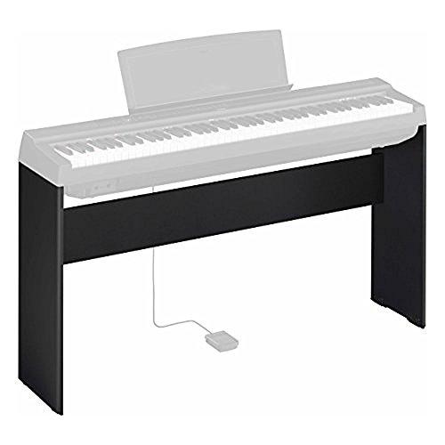 Yamaha L-125B, Supporto per Pianoforte Digitale Yamaha P-125, Design Compatto e Resistente in Legno, Nero - 1