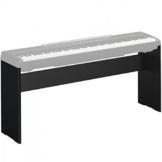 Yamaha L-85A, Supporto per Pianoforte Digitale, Design Resistente, Moderno ed Elegante, Compatibile con Pianoforte Digitale Yamaha P-45, Nero - 1