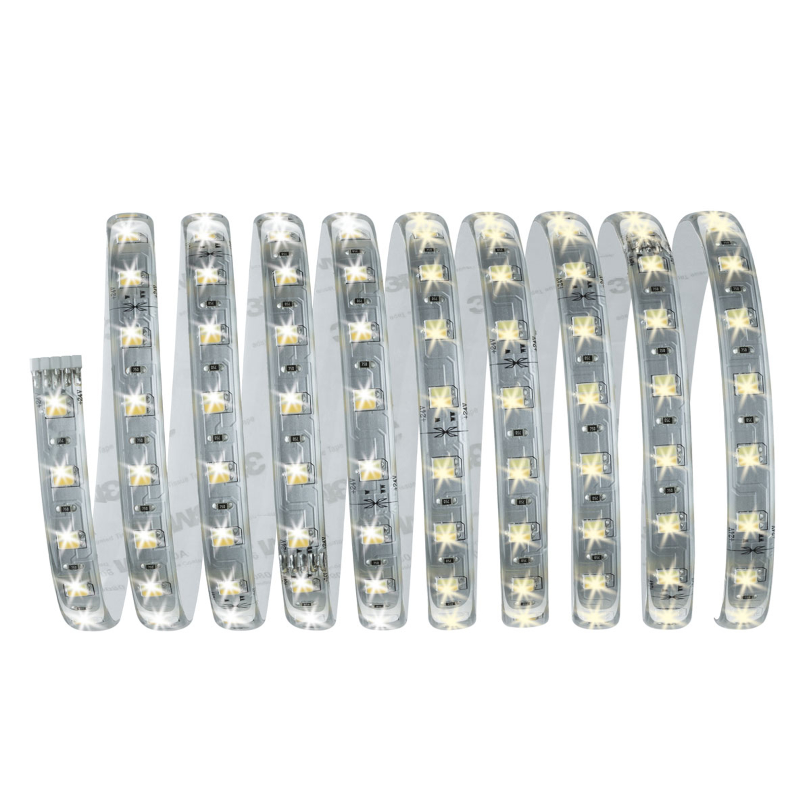 Set base strip LED Max 300 cm bianco, regolabile Illuminazione per interni