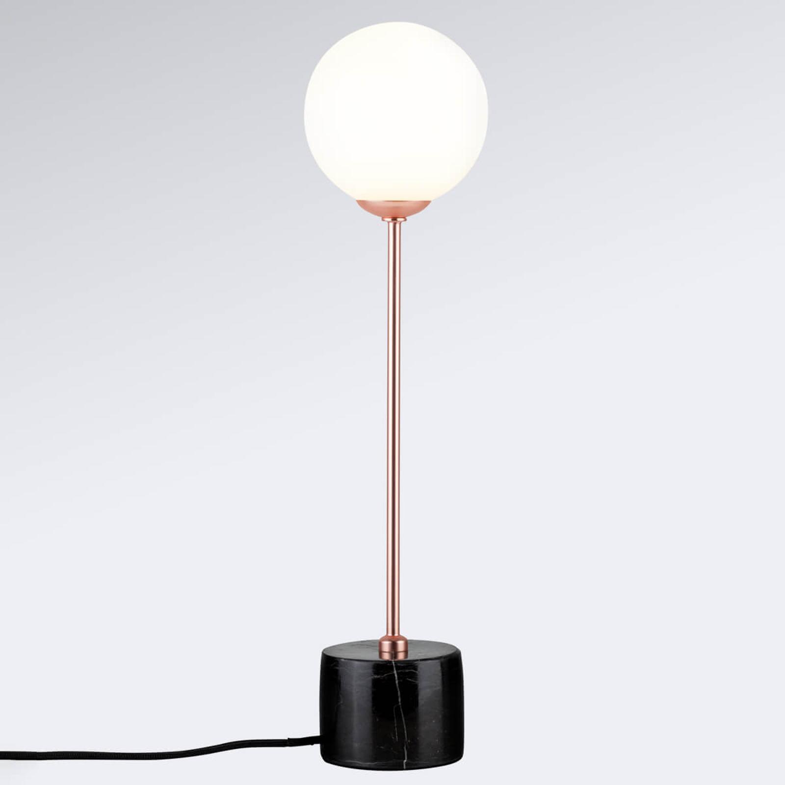 Dove acquistare Lampada da tavolo Moa c. paralume in vetro sferico