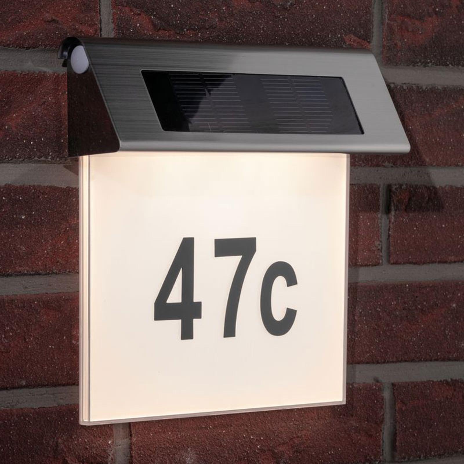 Dove acquistare Paulmann Solar numero civico con luce LED, IP44