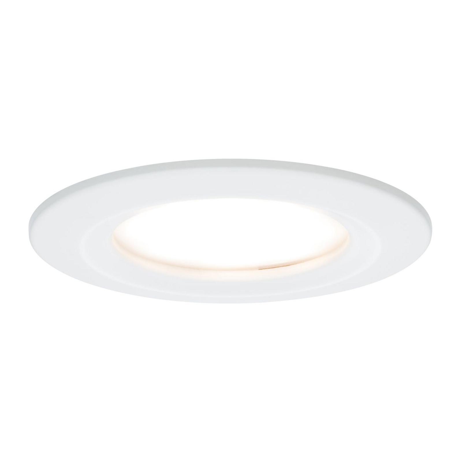 Dove acquistare Paulmann Slim Coin set di 3 faretti LED, bianco
