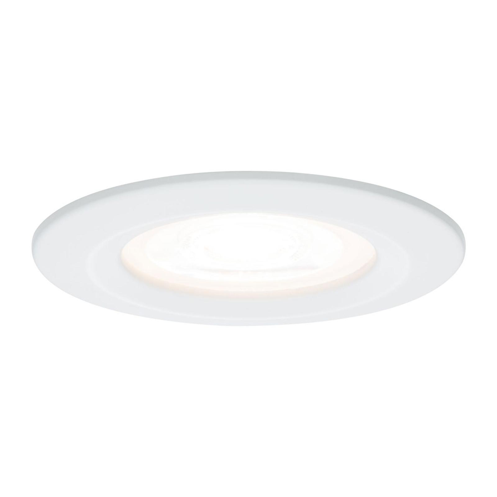Paulmann Nova faretto LED tondo dimmerabile bianco Illuminazione per interni