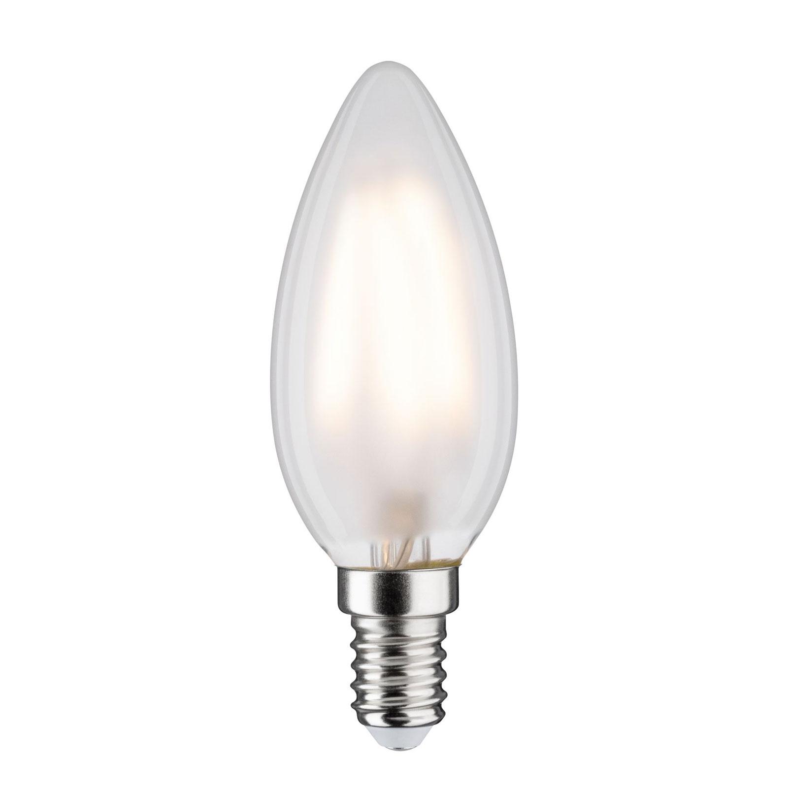 Candela LED E14 4,5W 2.700K satinato Illuminazione per interni