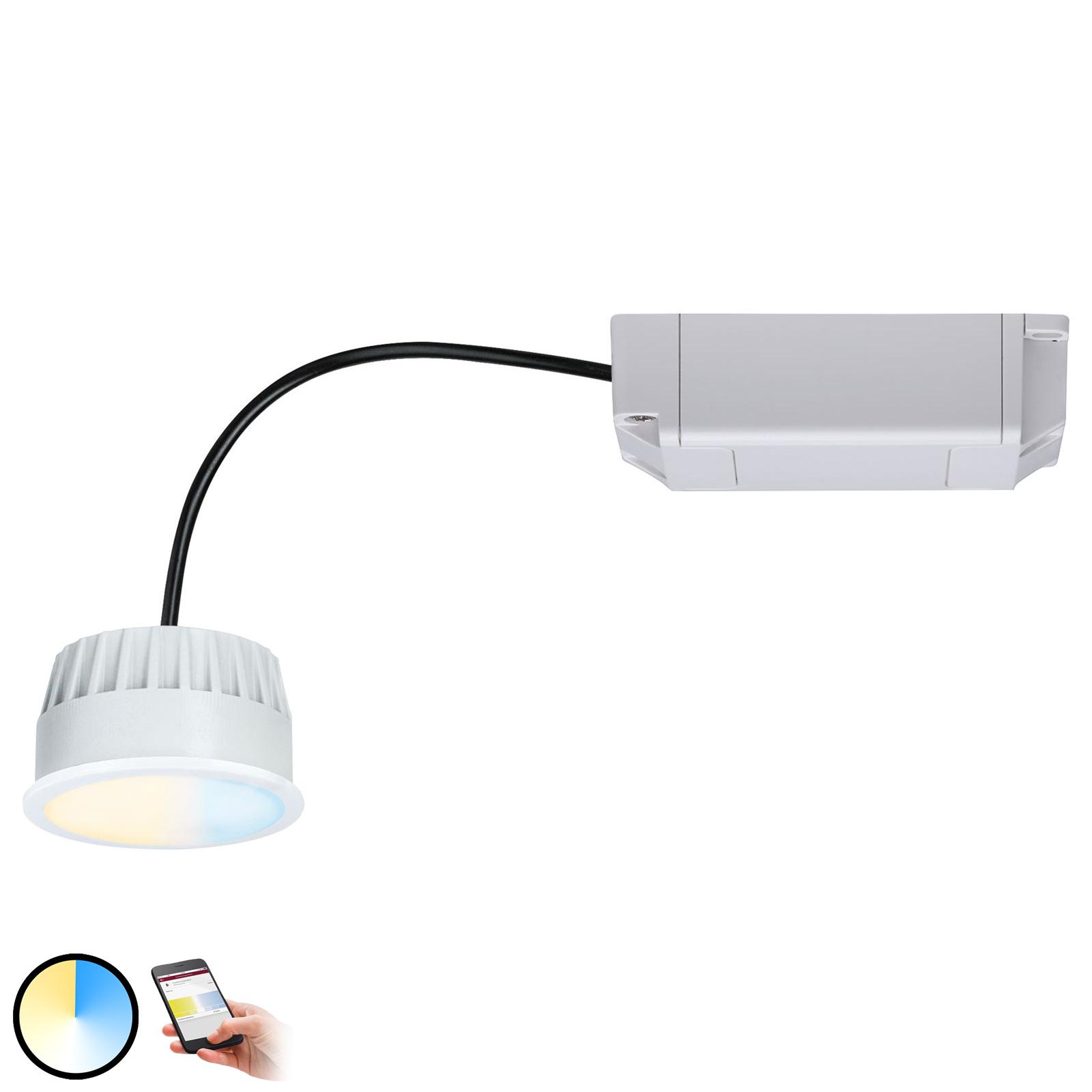 Paulmann Smart Friends ZigBee LED-Modul Coin, CCT Illuminazione per interni