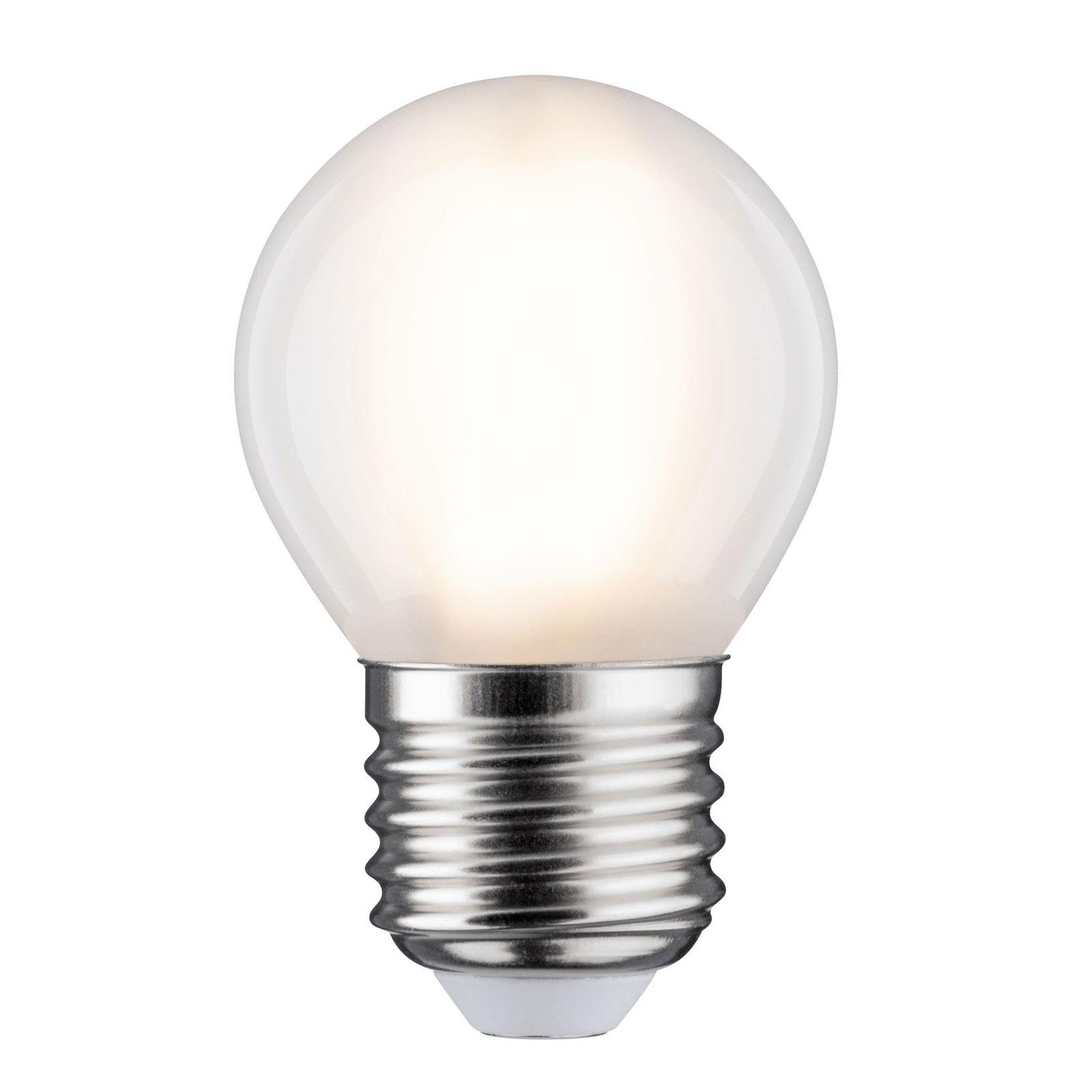 Lampadina LED E27 5W goccia 2.700K satinato Illuminazione per interni