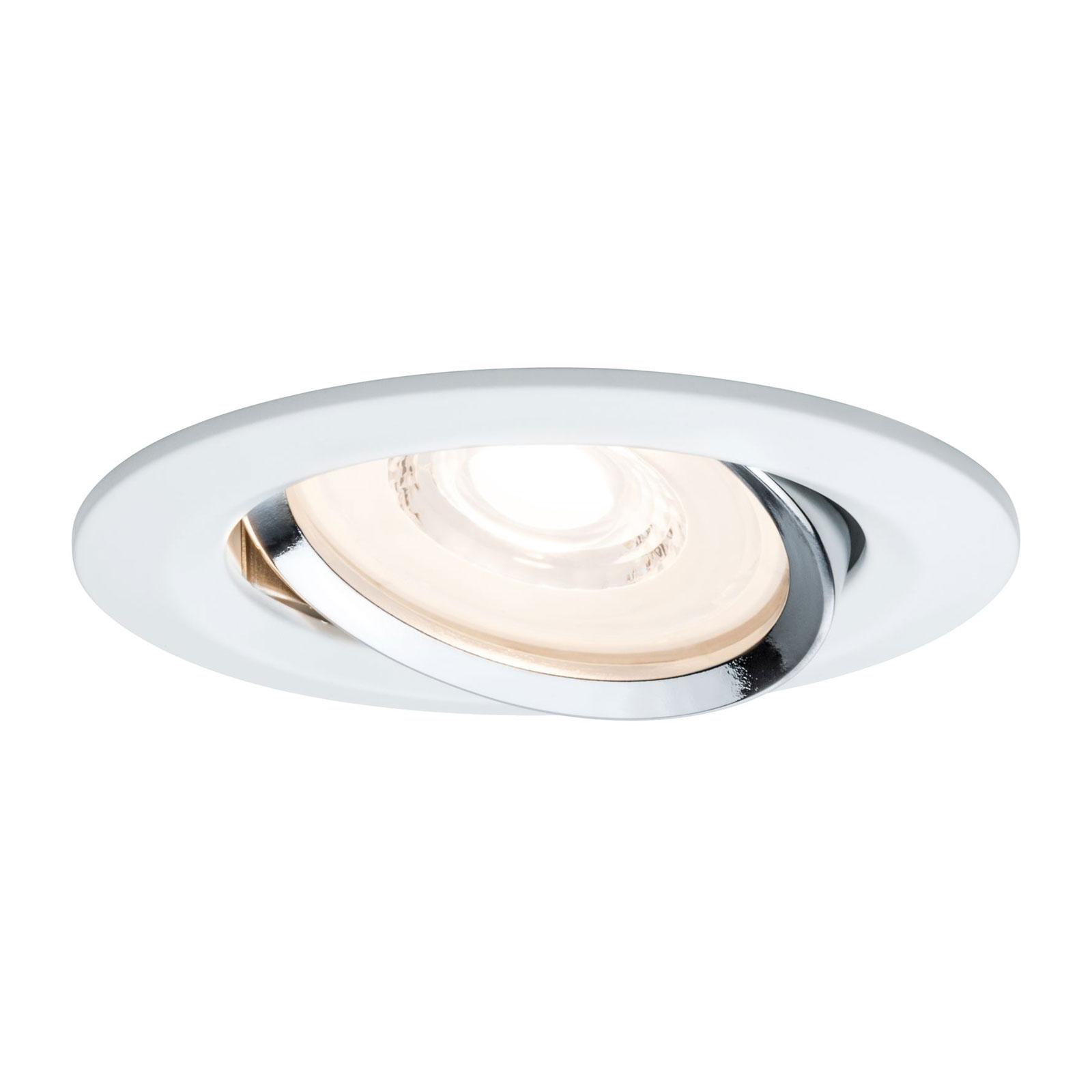 Paulmann Reflector Coin spot LED incasso, 3x Illuminazione per interni