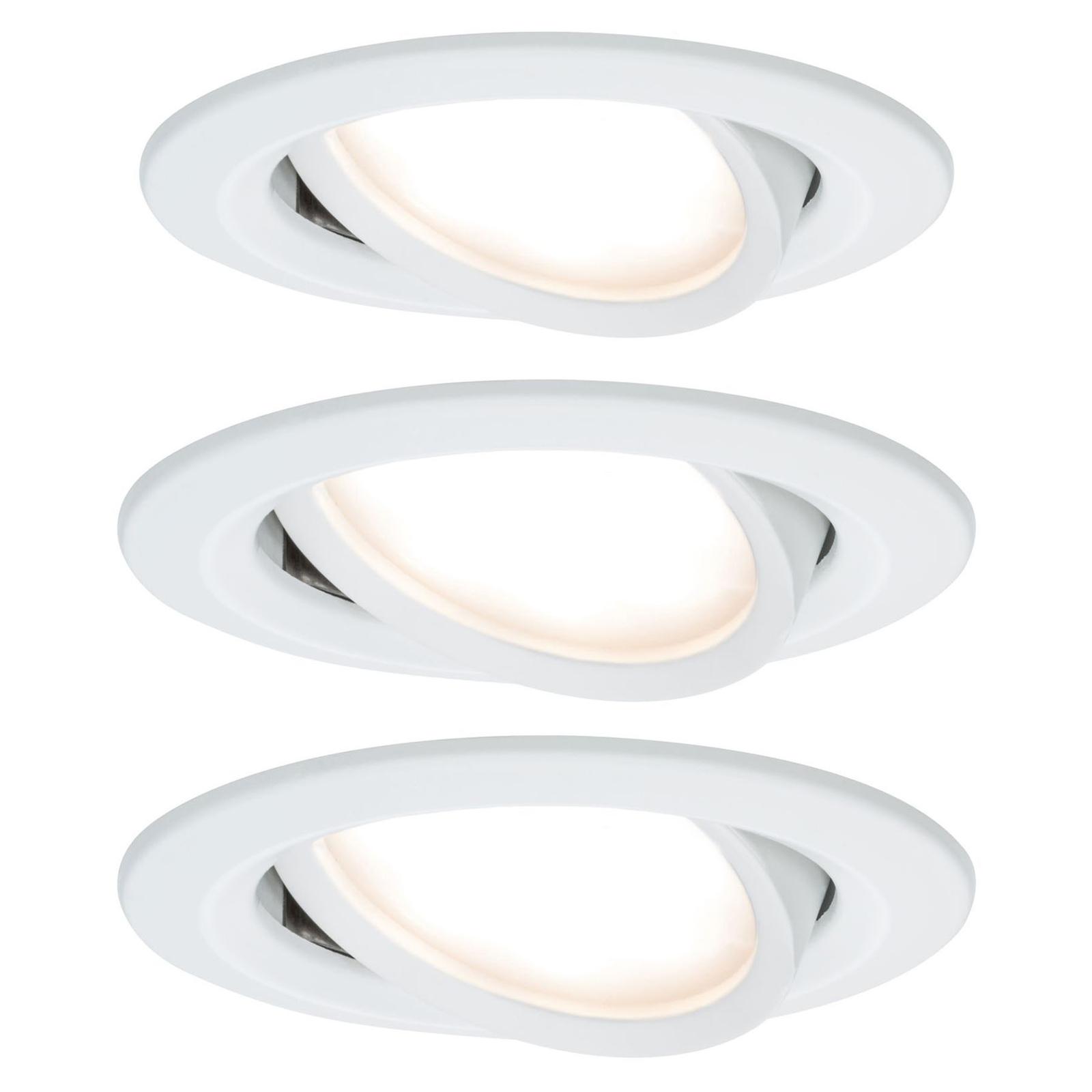 Dove acquistare Paulmann Nova set 3 spot LED orientabili alluminio