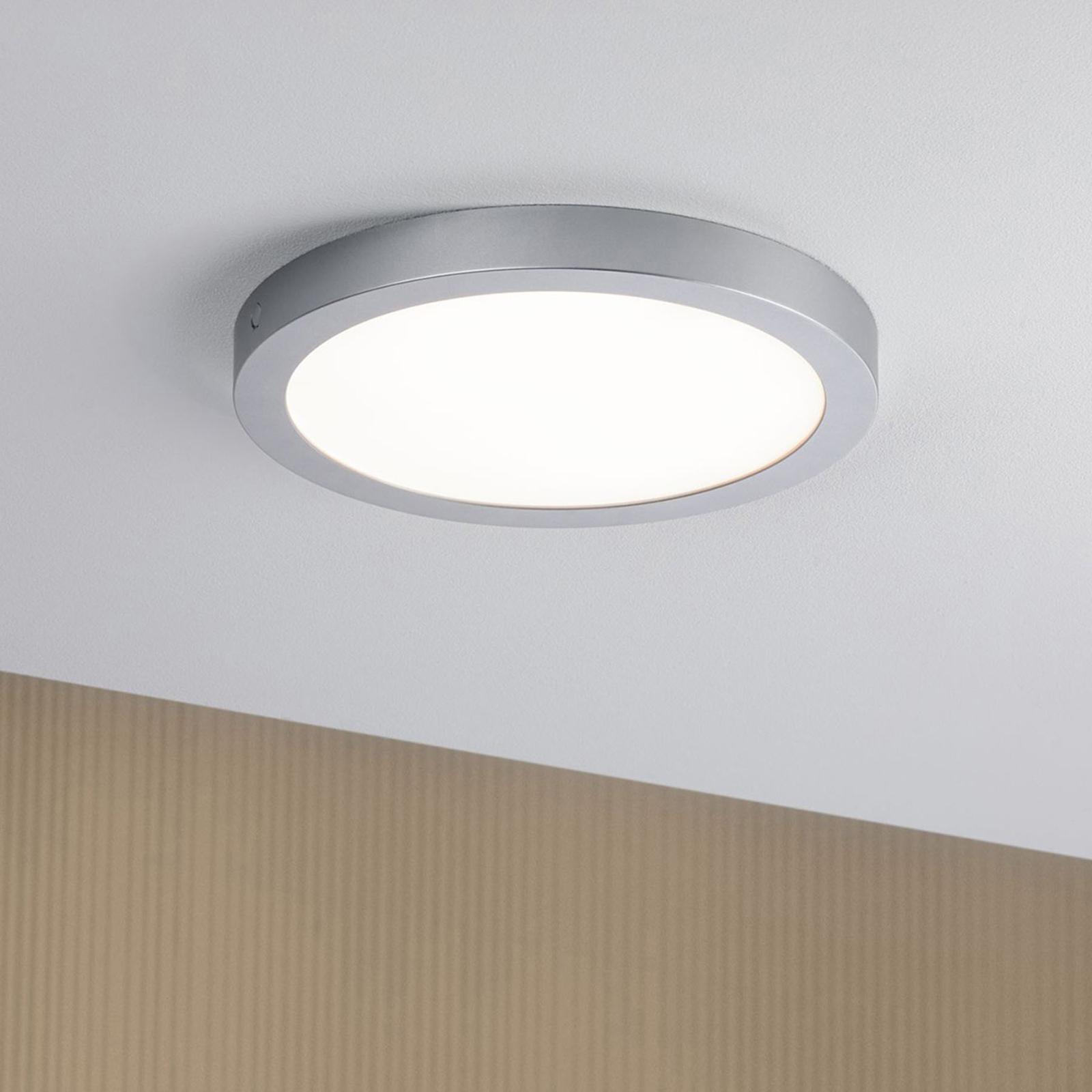 Paulmann Abia plafoniera LED Ø 30 cm cromo Illuminazione per interni