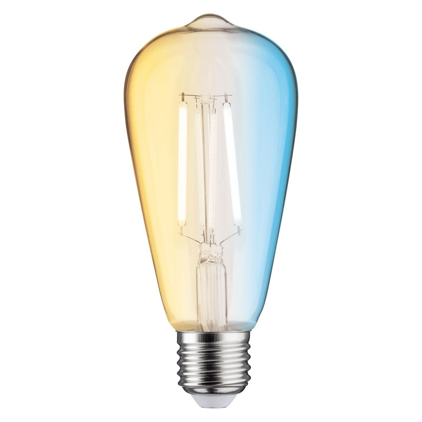 Paulmann LED rustica E27 7W Zigbee, CCT Illuminazione per interni