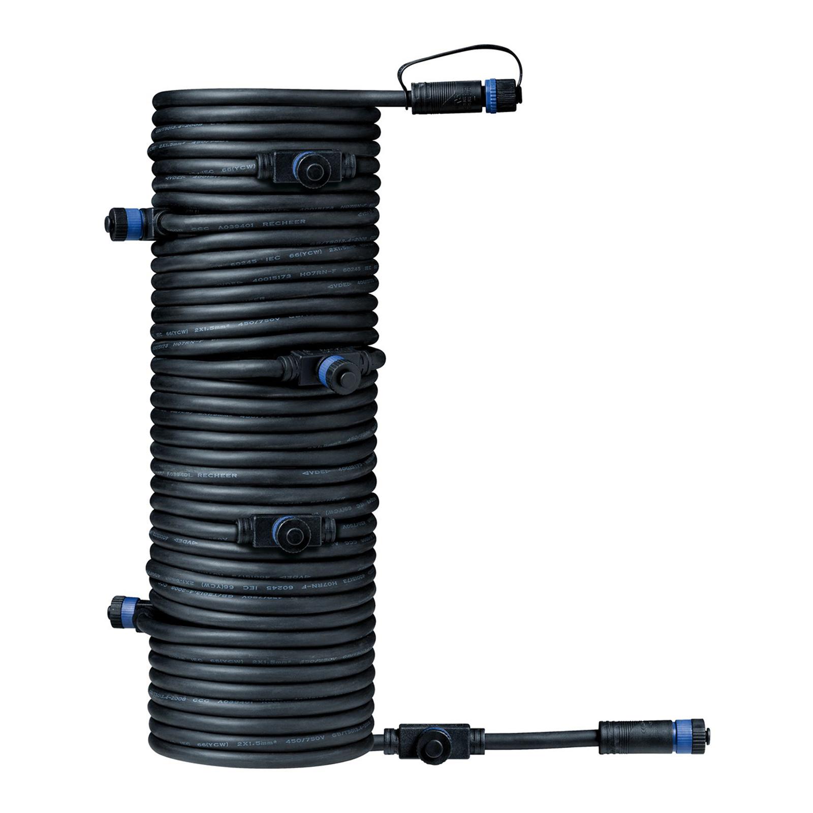 Paulmann Plug & Shine 93931 cavo 15m, 1 in/7 off Illuminazione per interni