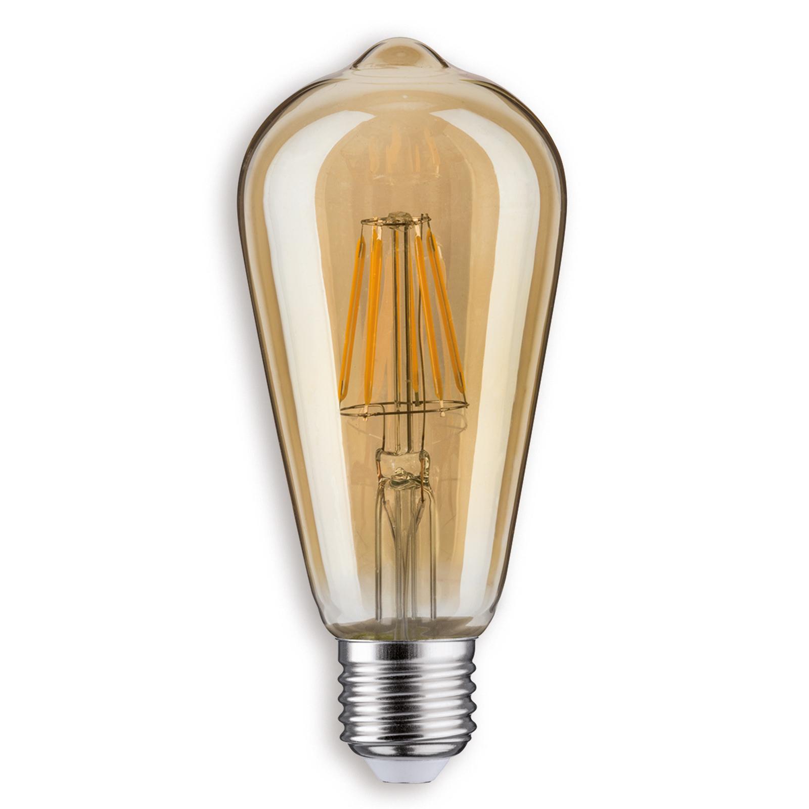 E27 7,5W LED country oro Illuminazione per interni