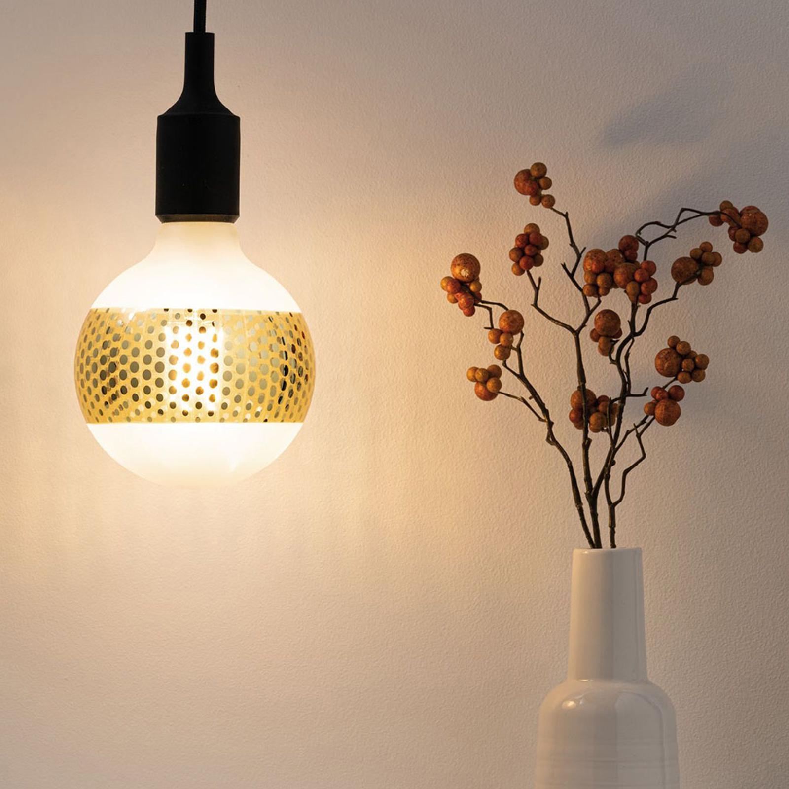 Dove acquistare Paulmann E27 LED globe 4,5W anello specchio oro