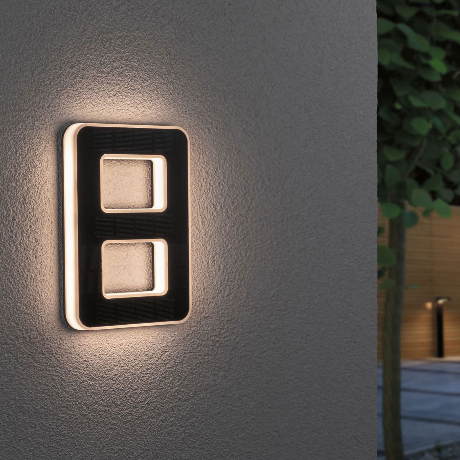 Paulmann lampada LED solare numero civico 8 Offerte e sconti